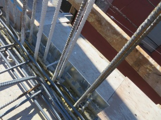 Angle Iron Building Method Close up