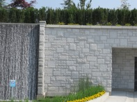 Aviara waterfall stone work